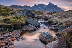 The Cobbler Sunset photo by Bryan Harkin