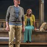 Jonathan Weir (Frank) and Susie McMonagle (Maria) in DAYS LIKE TODAY at Writers Theatre. Photo by Michael Brosilow.