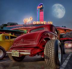 Summer Cruisin' At Mels Diner .... photo by Rat Rod Studios