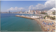 BENIDORM VIEWS ( Explored # 44  ) photo by vicki127.