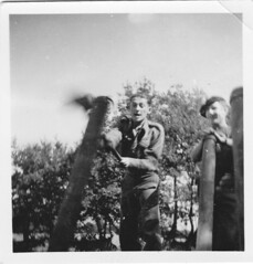 Angleterre -  Manoeuvre de force Juif et  Guggenheim Delville Camp - Fonds Jean-Mathieu Boris