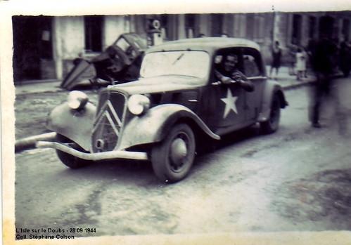 1944- Franche-Comté et Vosges- L'isle sur le Doubs- Col. Stéphane Colson