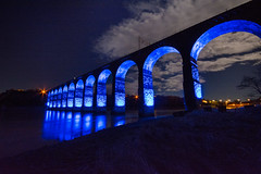 The Royal Border Bridge - Berwick photo by Gopostal1-if i should fall from grace with God