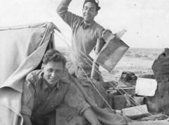 1943 Tunisie mars 1943 - Gambut - RA - César Leblanc et Dazarelli - Source Français libres.net