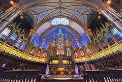 Church of Montreal (15) - Notre-Dame Basilica (Explore 2013-09-09) photo by Brady Fang