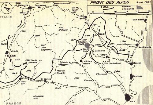 1945- Authion - 13 DBLE- André Paul Comor