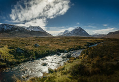View of Glen Etive from Glencoe photo by Bryan Harkin