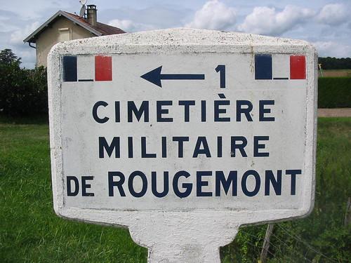 Franche Comté - Rougemont- Cimetière militaire - Alain Jacquot Boileau