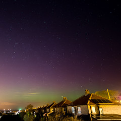 Brotton Aurora photo by Matt Wilde