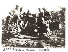 1945 - RA - mdl Marcel DUBOIS- Livre d'or archives mairie Herbsheim