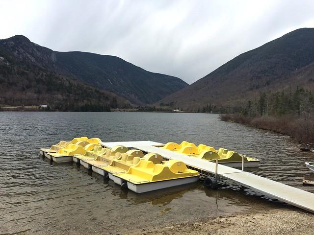 The boats are ready at Echo Lake...open  Fridays-Sundays!