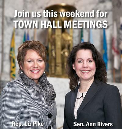 Rep. Liz Pike and Sen. Ann Rivers