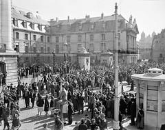 Scenes de la liberation de Dijon -Ecpad
