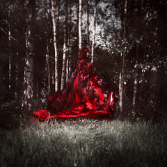 red riding hood photo by arrowlili