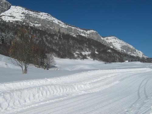 Mont Outheran, Site de Ski de fond du Désert