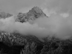 Grand Teton NP on a Stormy Day black and white (14) photo by moelynphotos