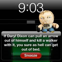 @TinyDaryDixon Tweets WAKE UP photo by wickeddollz