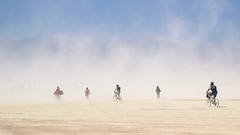 Bikes and Dust photo by Dan Hogman