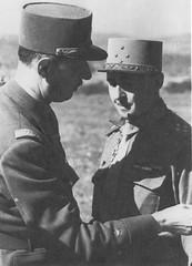 De Larminat et le général de Gaulle