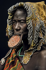 Mursi Tribe photo by Pit Buehler