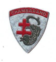 BM 4- Chambarand - Insigne chambarand - Fonds Emile Gauthier