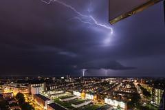 Onweer boven Groningen (Corpus den Hoorn) photo by Frenklin