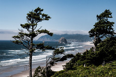 Haystack Rock Cannon Beach Oregon photo by ams photos