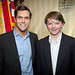Sean Eldridge and Will Connolly