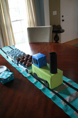 Carter's Simple Train Party