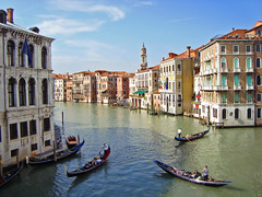 Canal Grande from Rialto Bridge, Venice, Italy photo by Ferry Vermeer