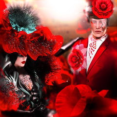 Spring Awakening: The Red Poppies photo by -Fashion Teller House-