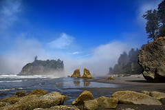 Ruby Beach Sea Fog photo by E=mcSCOW