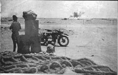 1942 Bir Hakeim - Bombardement - source :  Bir Kakim 1943