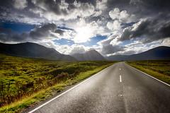 Road to Glencoe - Scotland photo by Mathew Roberts