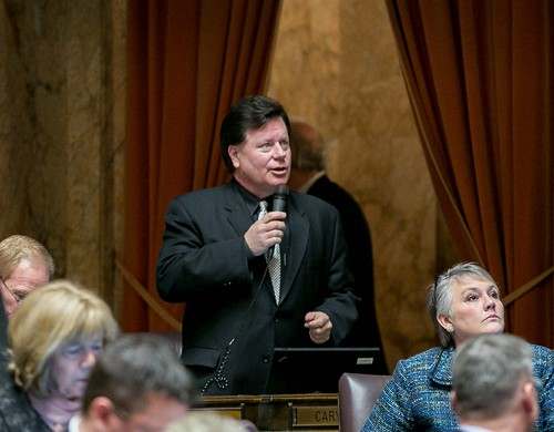 Rep. Condotta speaks on the House floor