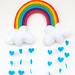 Ibiza - Rainbow & Clouds Raining Love Hearts Mobile