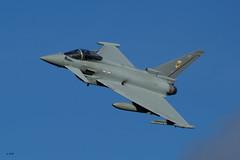 Typhoon - RAF Leuchars 1(Fighter) Squadron photo by Rob_ert