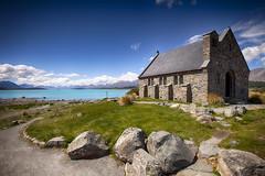 Church of the Good Shepherd - Lake Tekapo -  New Zealand photo by Mathew Roberts