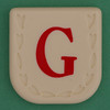 Line Word red letter G