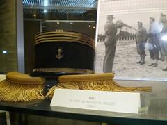 BRosset- Musée des troupes de Marine Fréjus- - Le Képi du Général Diego Brosset