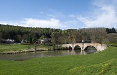 Bridge over the Derwent photo by James Cottrell 1