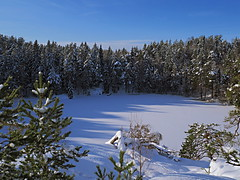 Winter lake photo by Jens Haggren