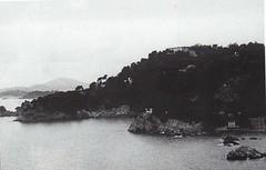 1944 - Provence-  Le fort du cap Brun vu de Ste Marguerite - col part - Paul Gaujac