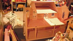 Barbie Magical Mansion-assembley from the inside! photo by Girlieman dolls