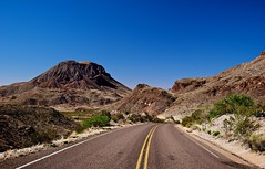 On the Road and Heading South in Big Bend National Park photo by thor_mark 