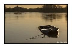 Paysage hivernal sur la Loire. photo by RV1902