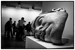 Ron Mueck - Mask II photo by Hervé KERNEIS