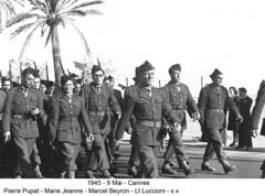 BM 4 Chambarand - 1945 9 Mai_Cannes - Col. Emile Gauthier