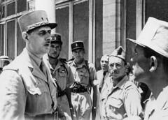 13 DBLE- général de_gaulle_, Gabriel Brunet de Sairigné et Hubert Germain ,  (Crédit photo : Ordre de la Libération)