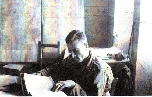 1945- Alsace- Capitaine Stahl BM 4 -Source  20 ans en 1940 de Henri Beauge
